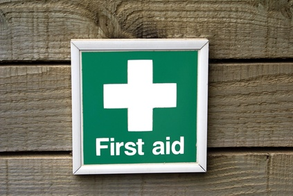 sign. first aid sign